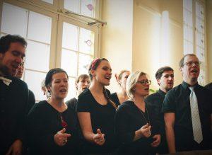 Crazy Generation Chor in der Helmholtzschule