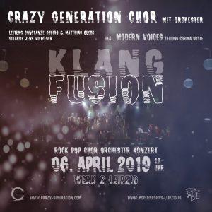 Plakat Klangfusion 2019