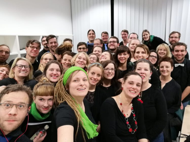 Crazy Generation Chor in der Uniklinik Leipzig